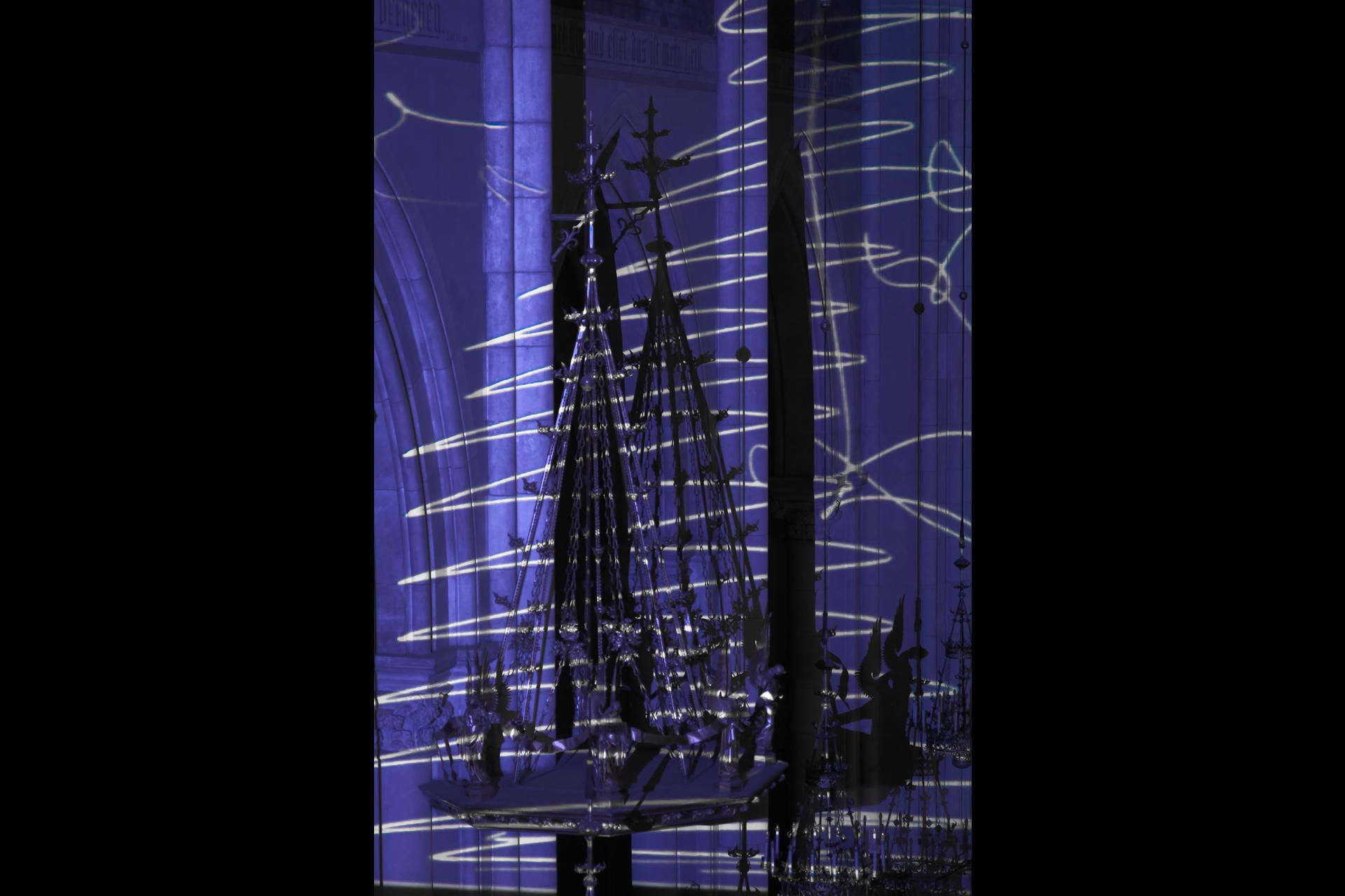 Lightscapes - Herz-Jesu-Kirche Graz - Lange Nacht der Kirchen