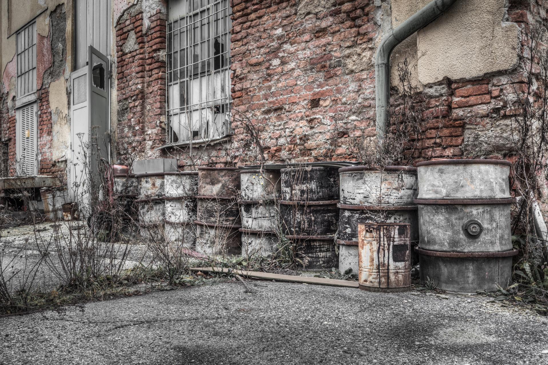 Urbex - Factory Watchtower - Barrel Gallery