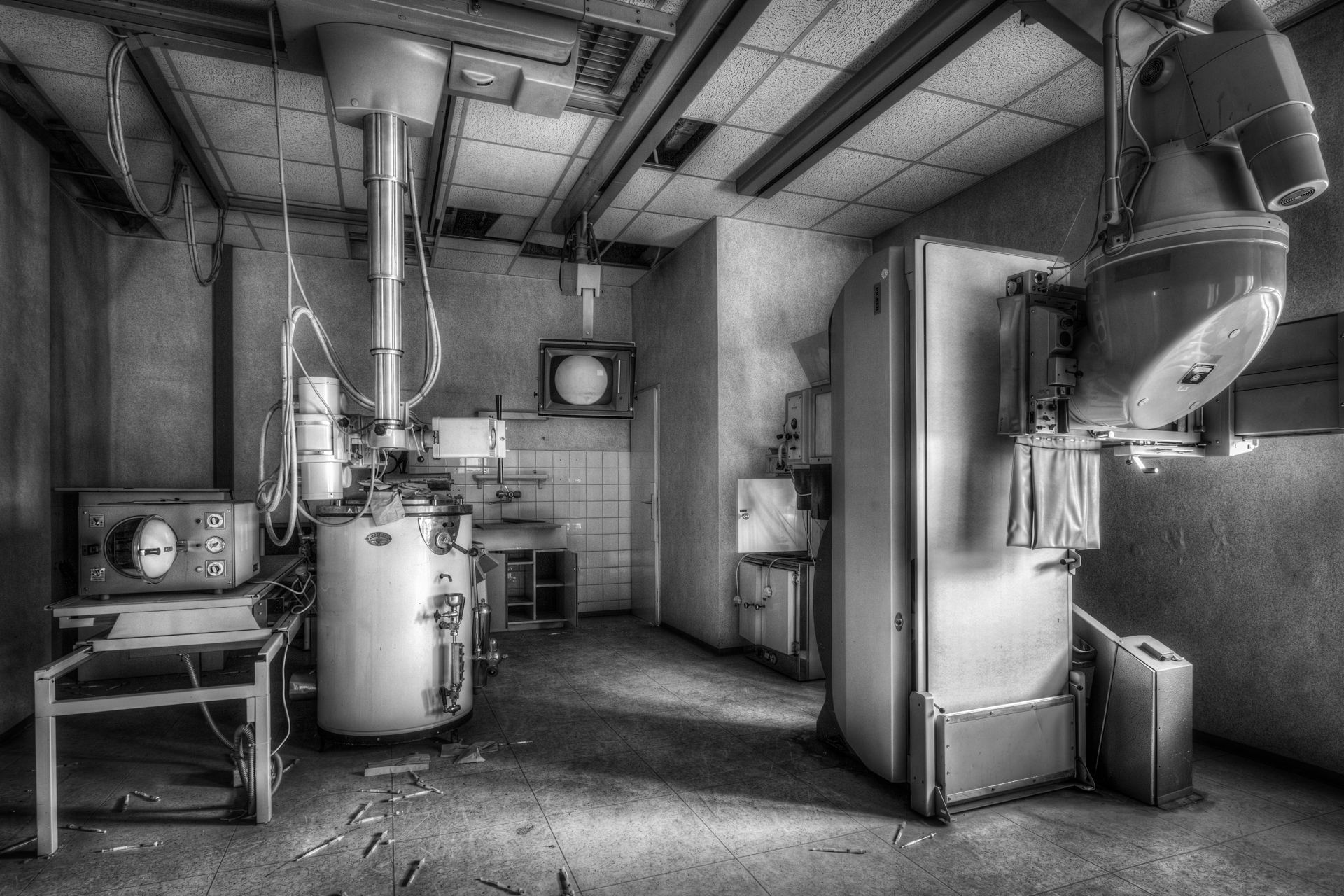 Urbex - Klinikum Panorama - Ray in Peace