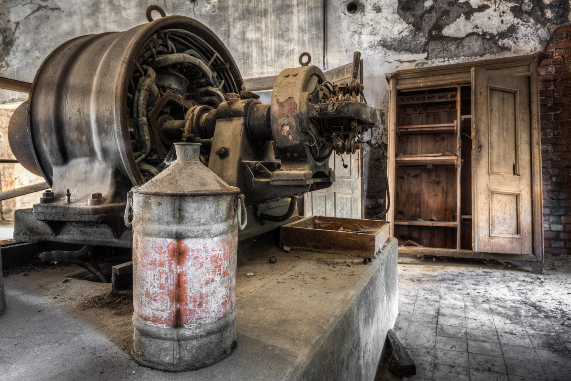 Urbex - Lincoln's Muehle - Lubricant