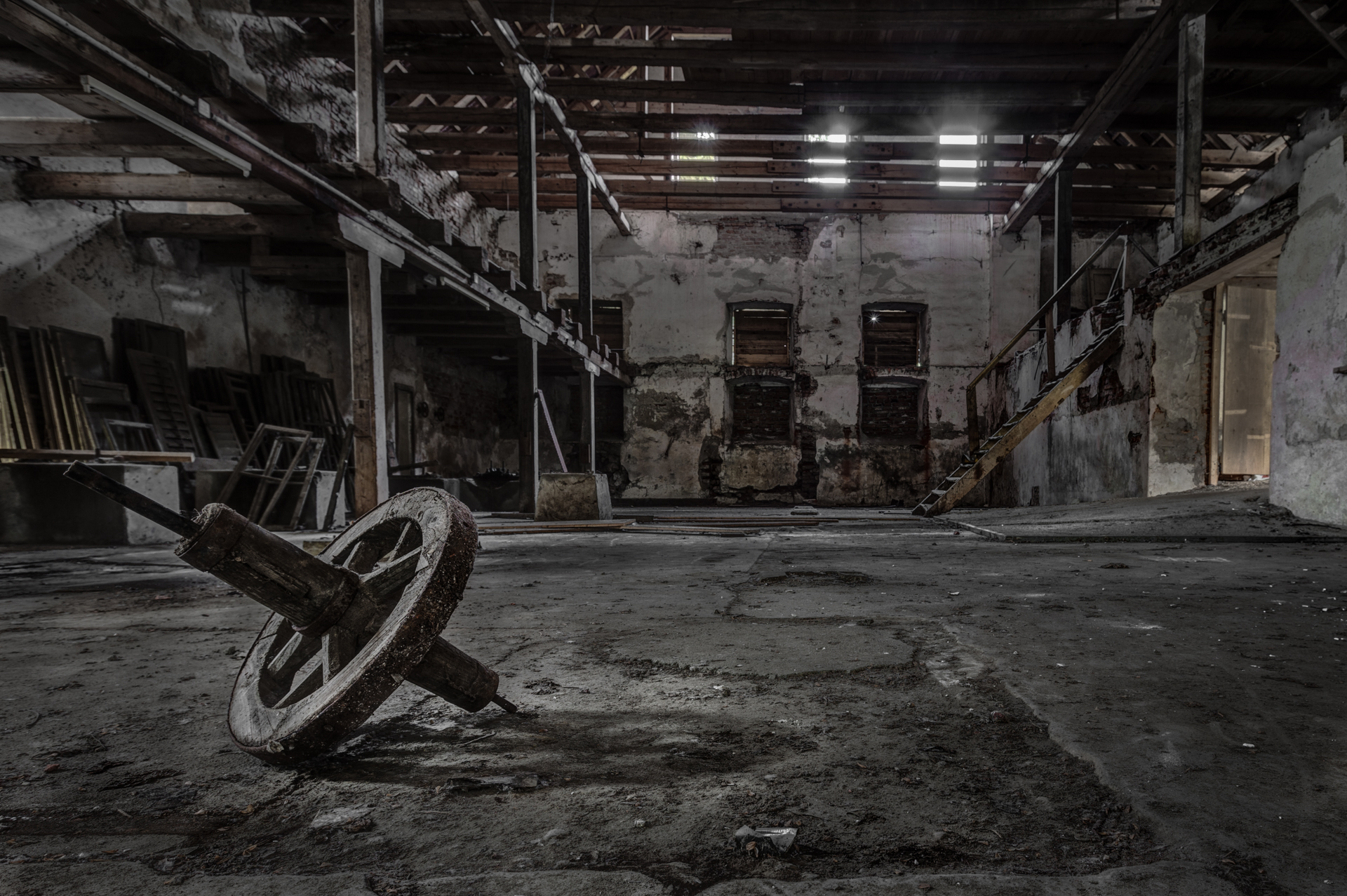 Urbex - Lincoln's Muehle - Wheel of Fortune