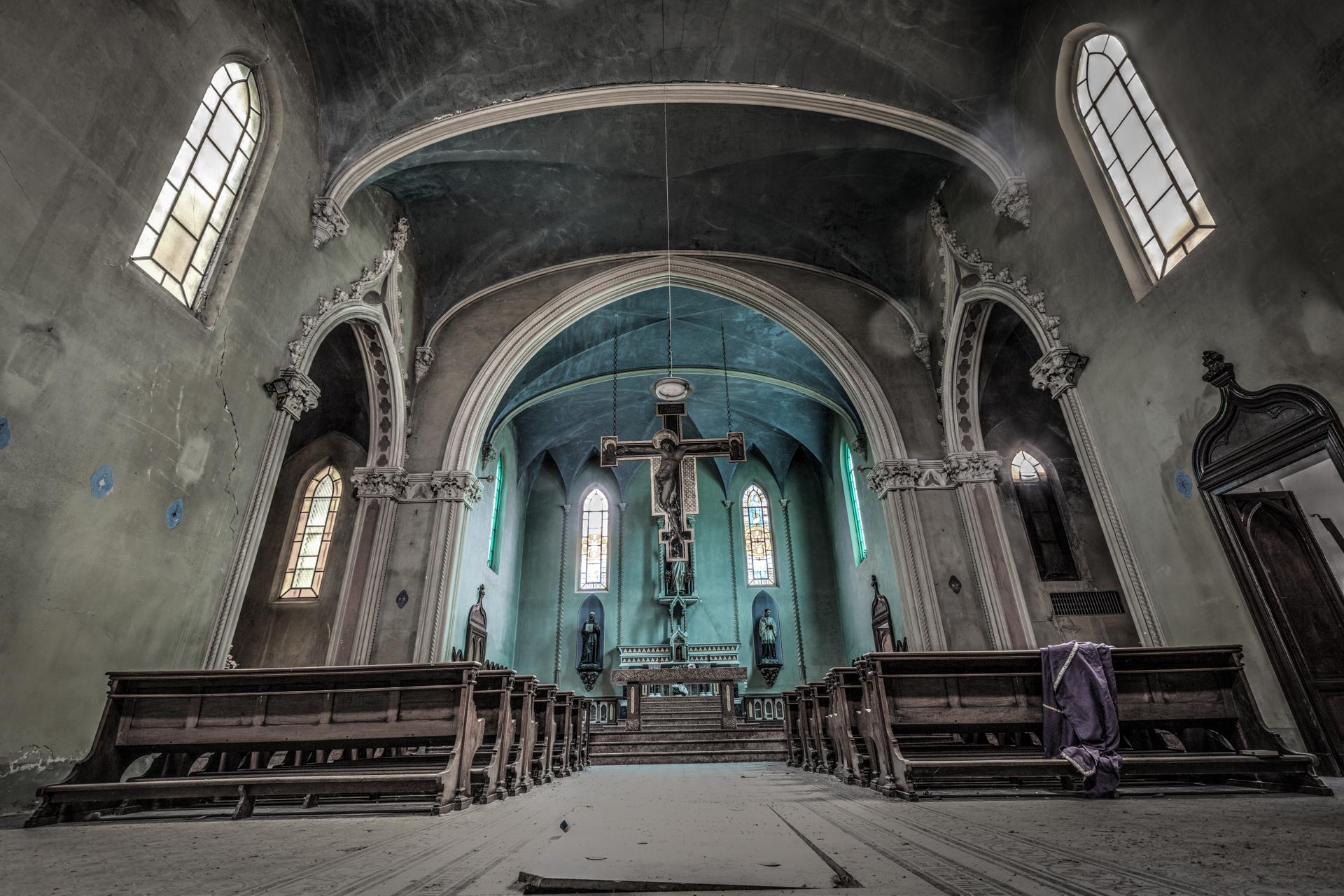 Urbex - Blue Chapel