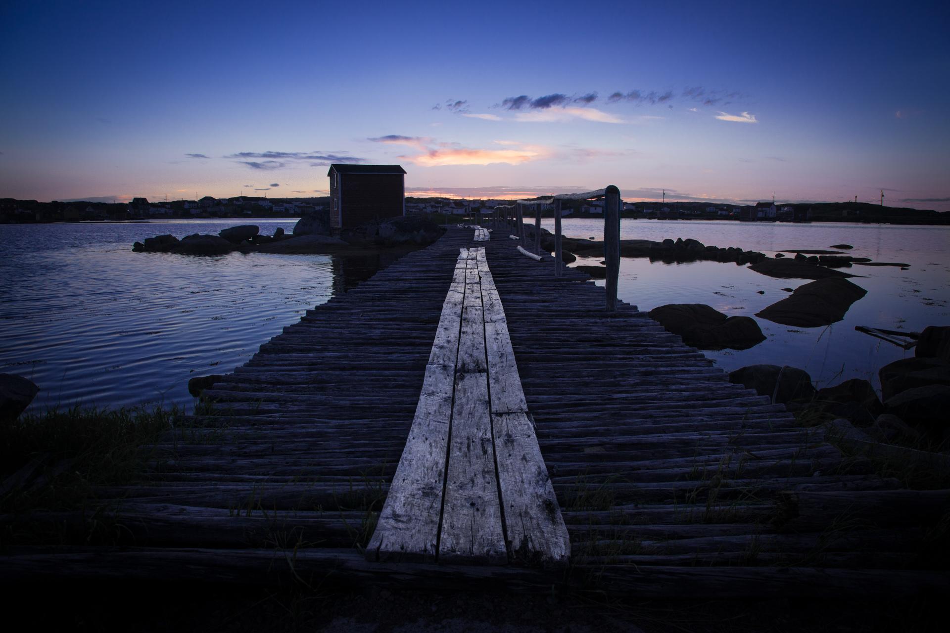 Landscapes - Newfoundland - Fogo Island Sunset