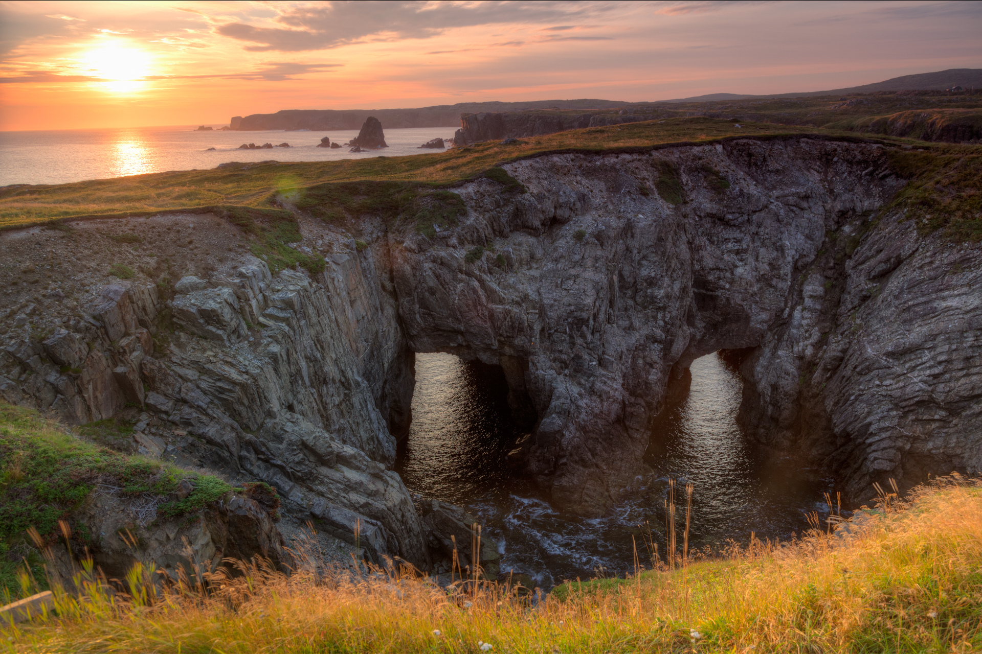 Landscapes - Newfoundland - Sea Crater