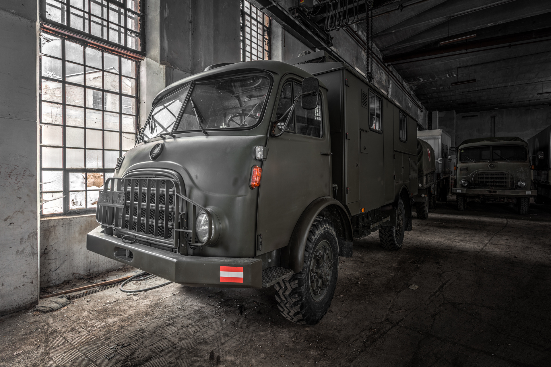 Urban Exploration - Villa Vehicle - 680er Diesel