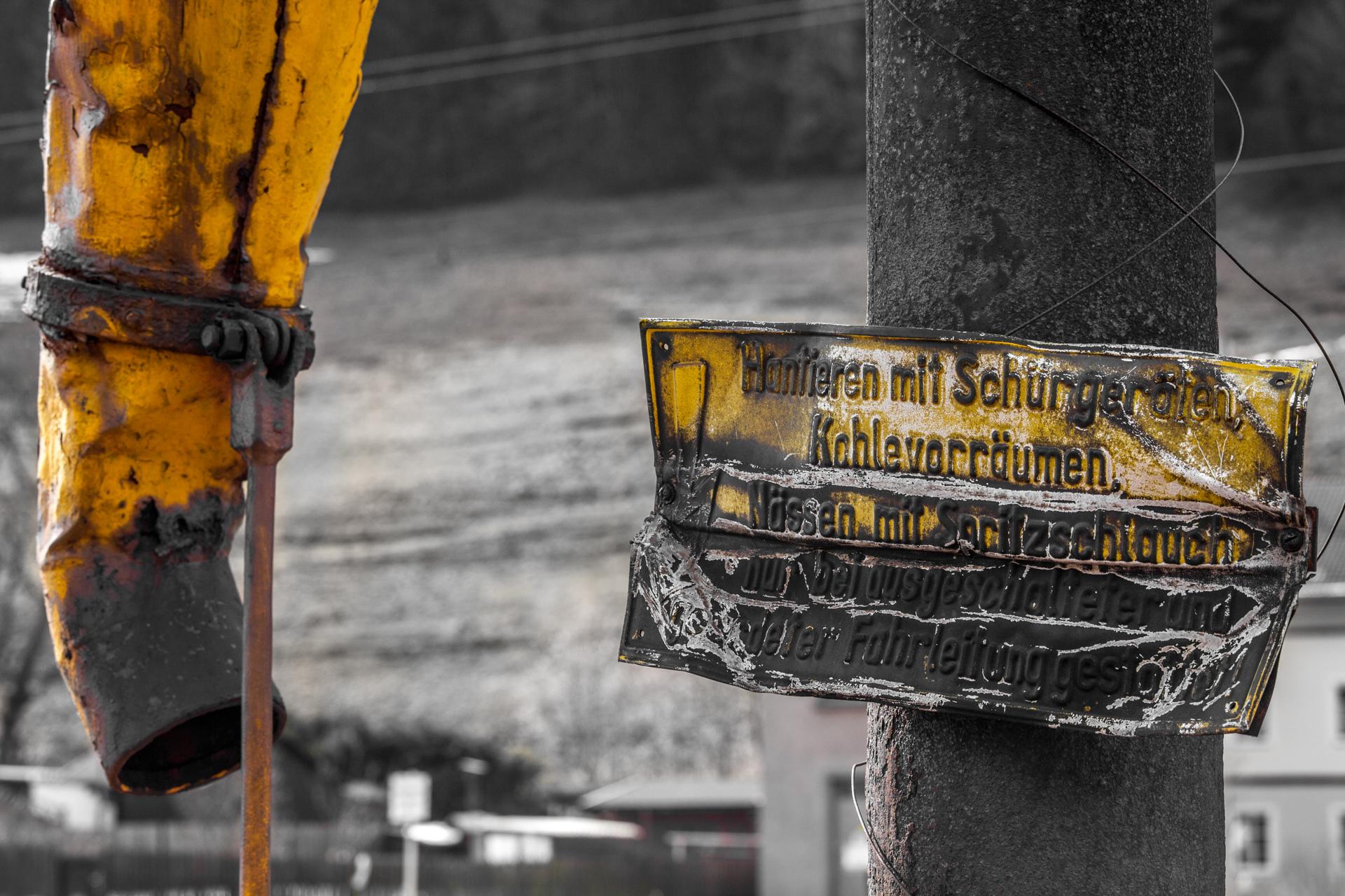Urban Exploration - Turntable Station - Iron Trunk