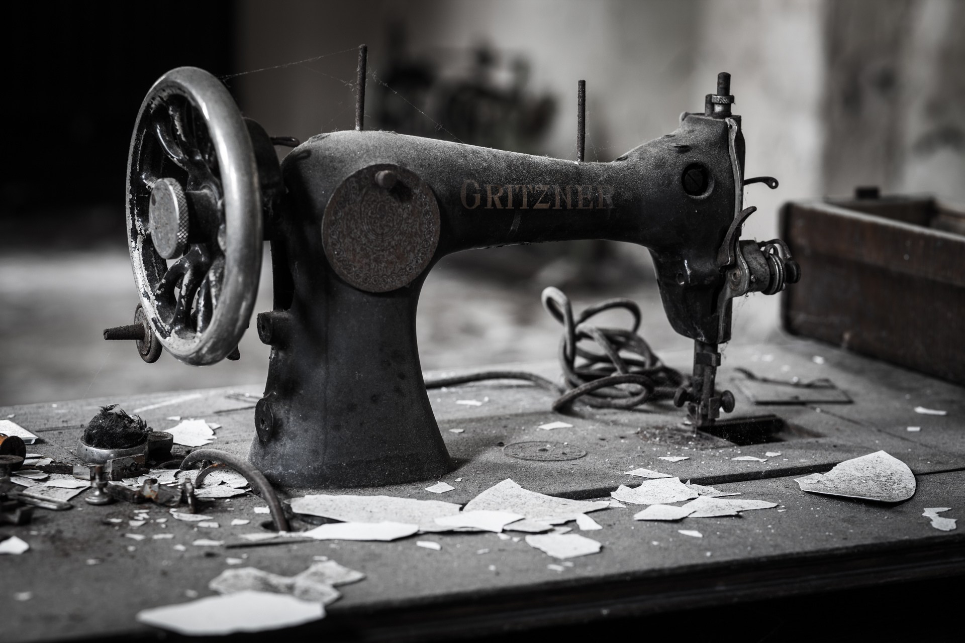 Urban Exploration - Soldier School - Stopped Sewing