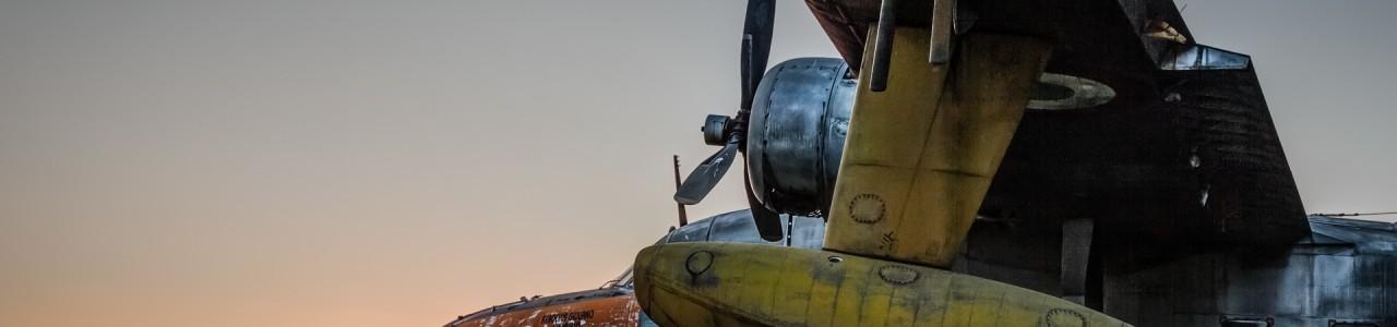 Urban Exploration - Airbase Confeccio - Sunset Dreams