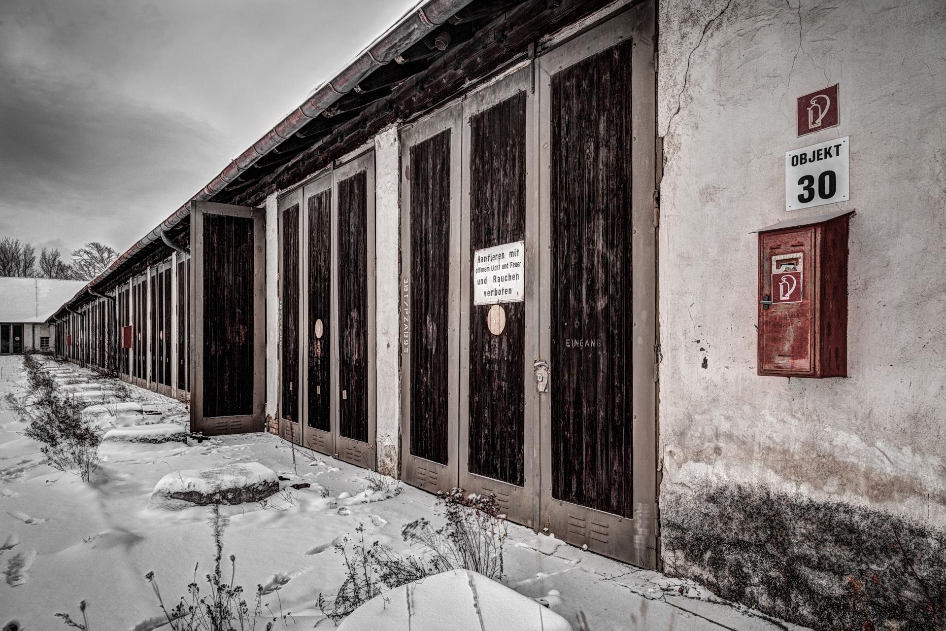 Urban Exploration - Cold Casern - Objekt 30