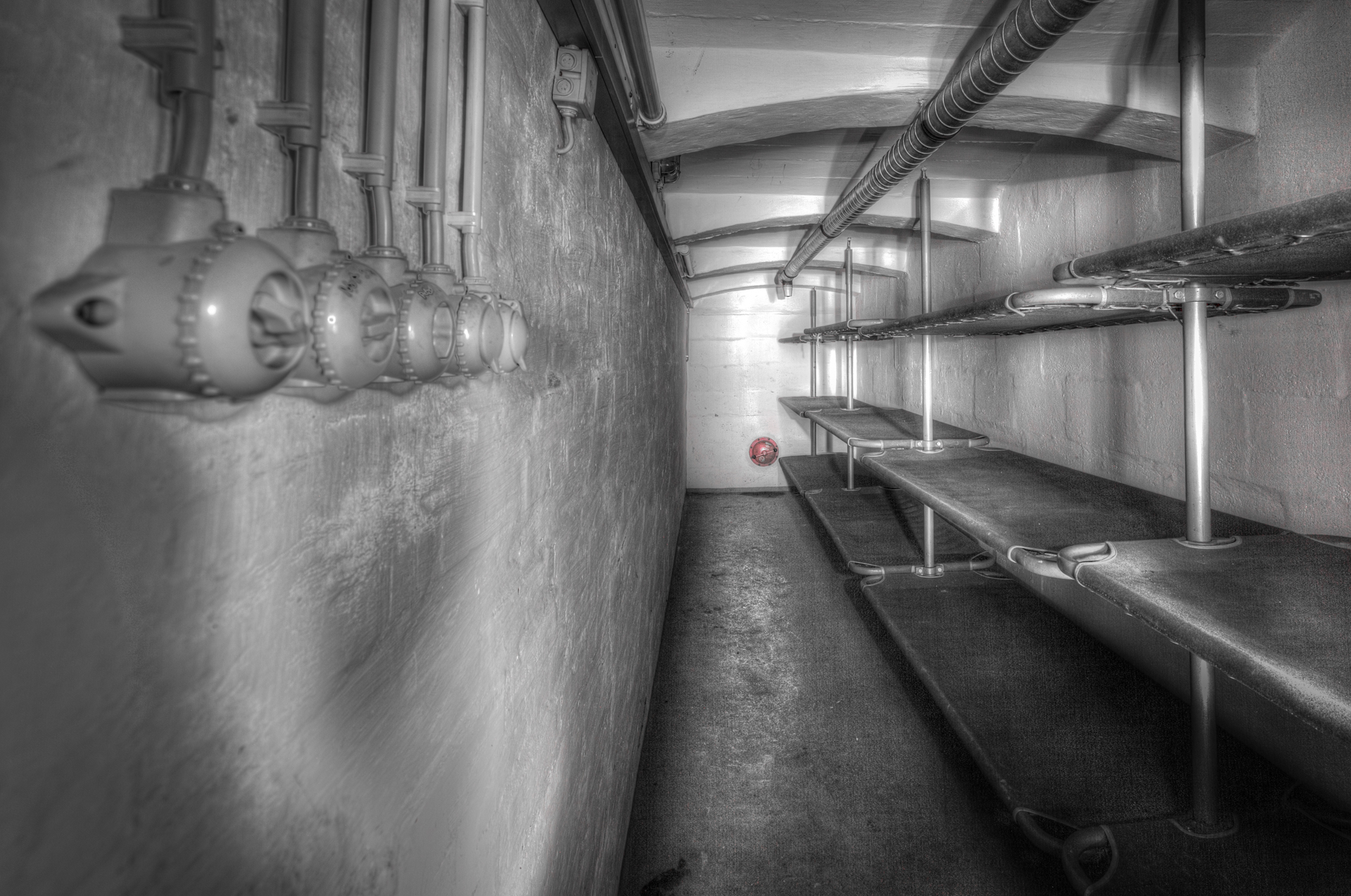 Urban Exploration - Cold Casern - Sleeping Battery