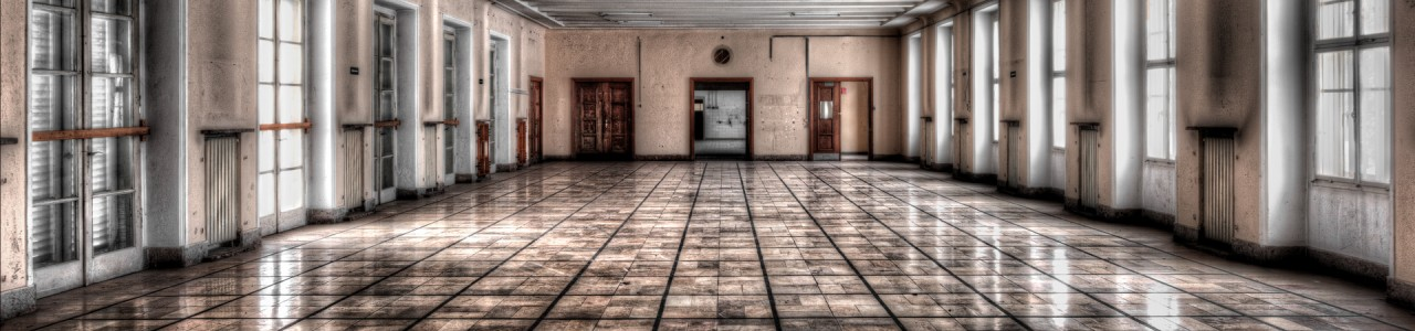 Urban Exploration - Cold Casern - Tetris Wardroom