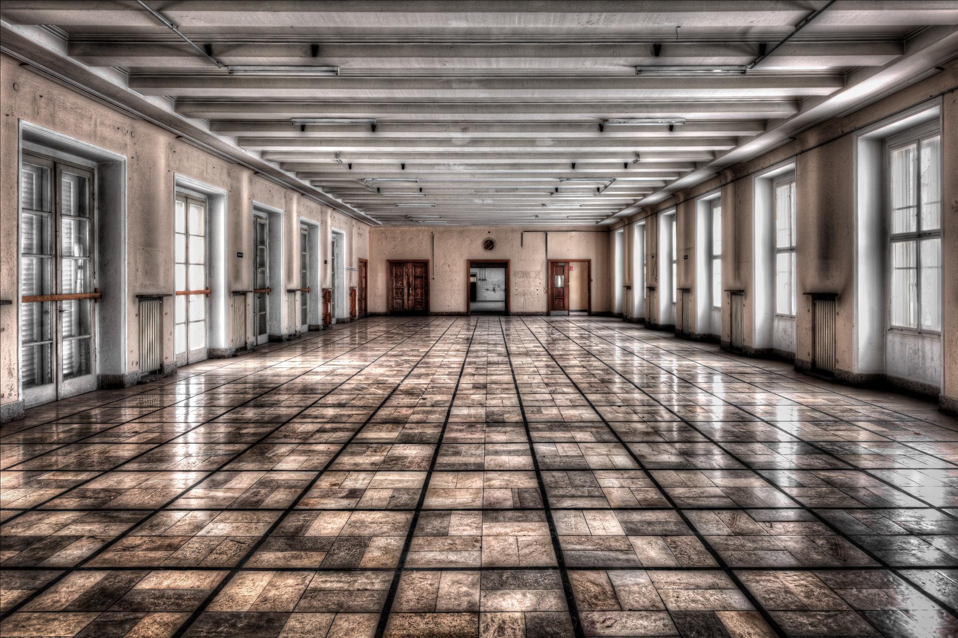 Urban Exploration - Cold Casern - Tetris Wardroom