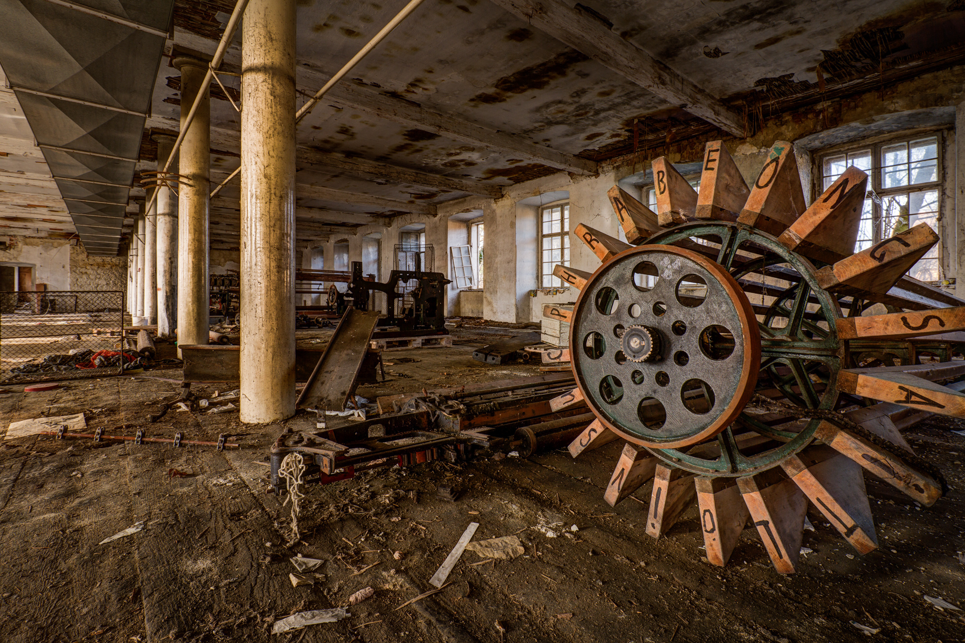 Urban Exploration - Grand Piano Weaving Mill - Cipher Spindle