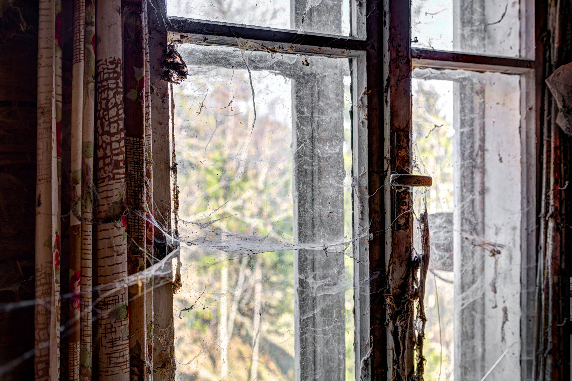 Urban Exploration - Lottery Farmhouse - Cobweb Views