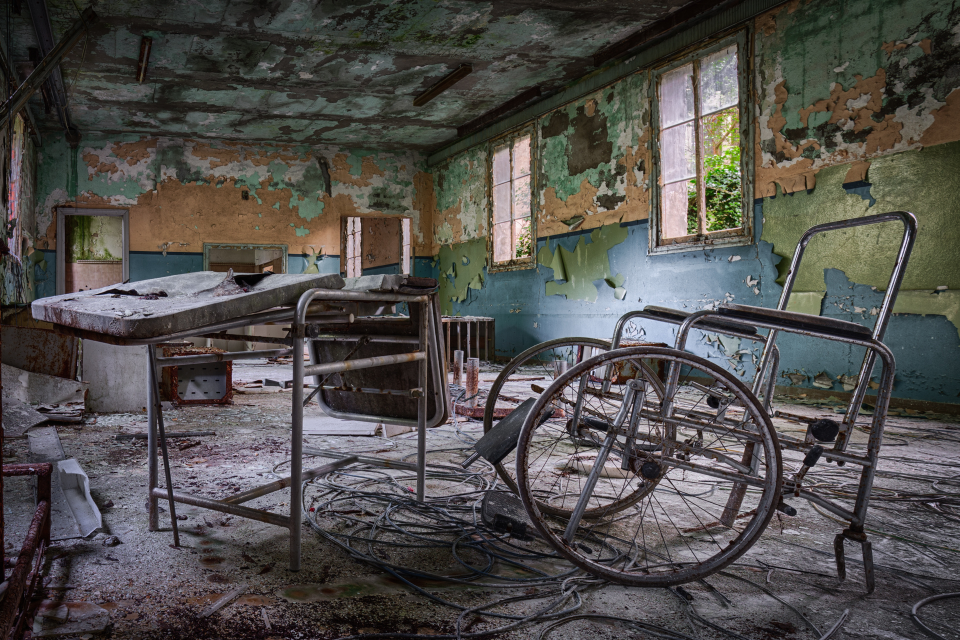 Urban Exploration - Manicomio Di Anime - Treatment Room