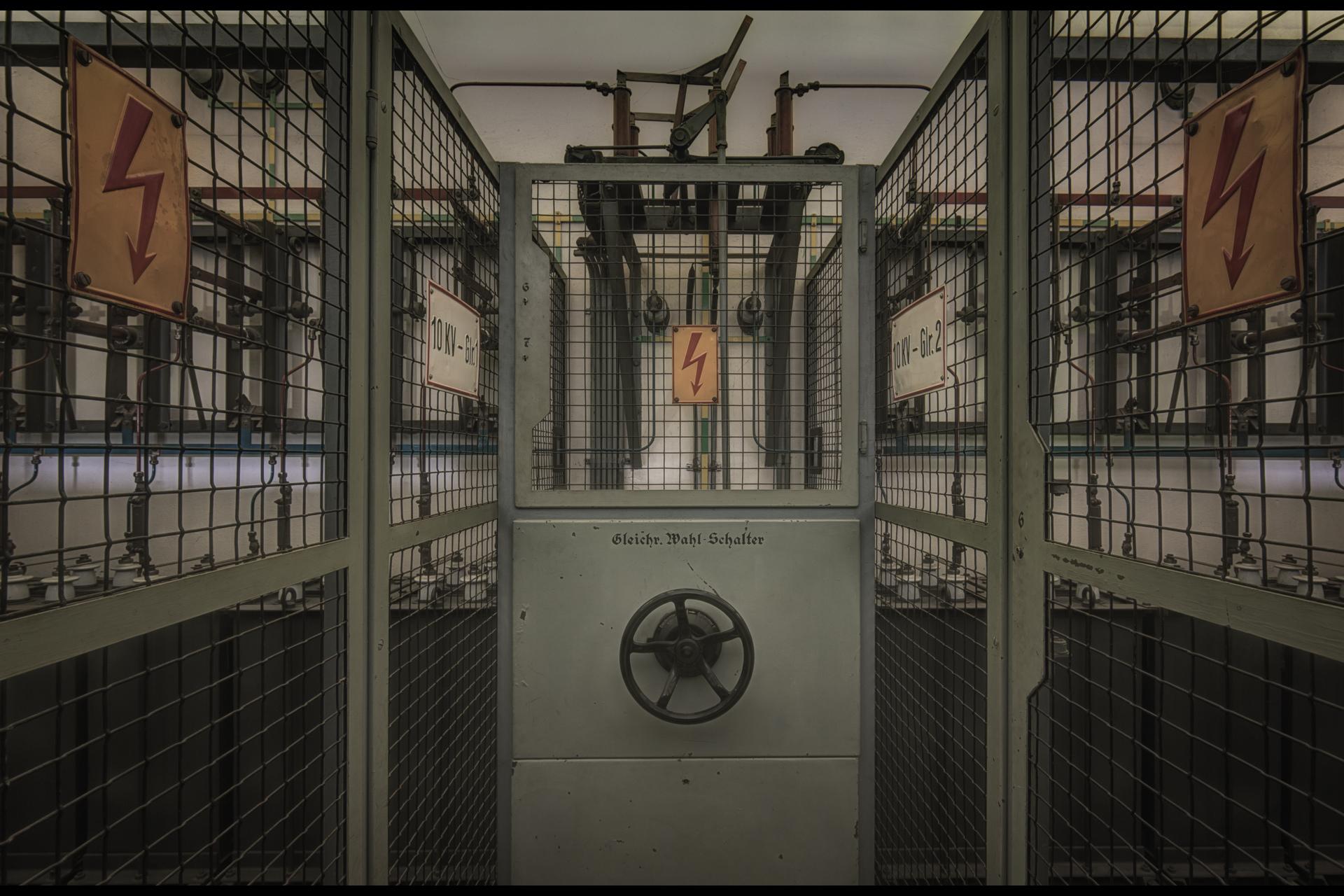 Urban Exploration - Propaganda Bullhorn - High Voltage Cabinet