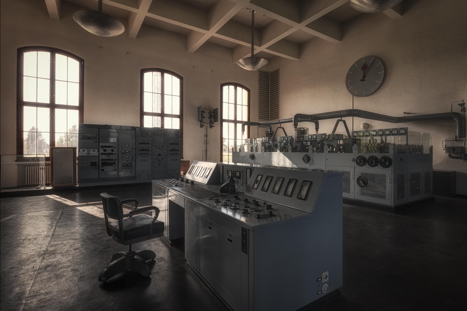 Urban Exploration - Propaganda Bullhorn - The Studio