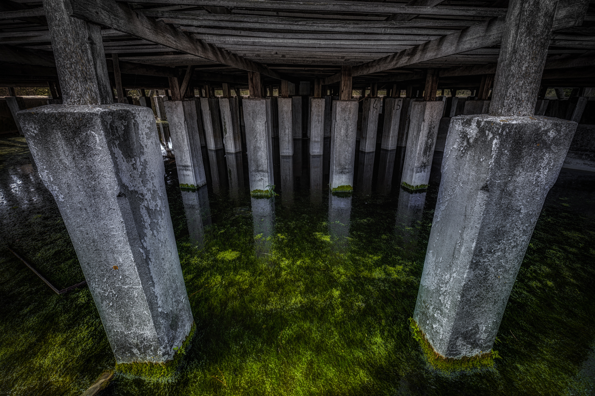 Urban Exploration - Powerplant Elettrica - Green Reservoir