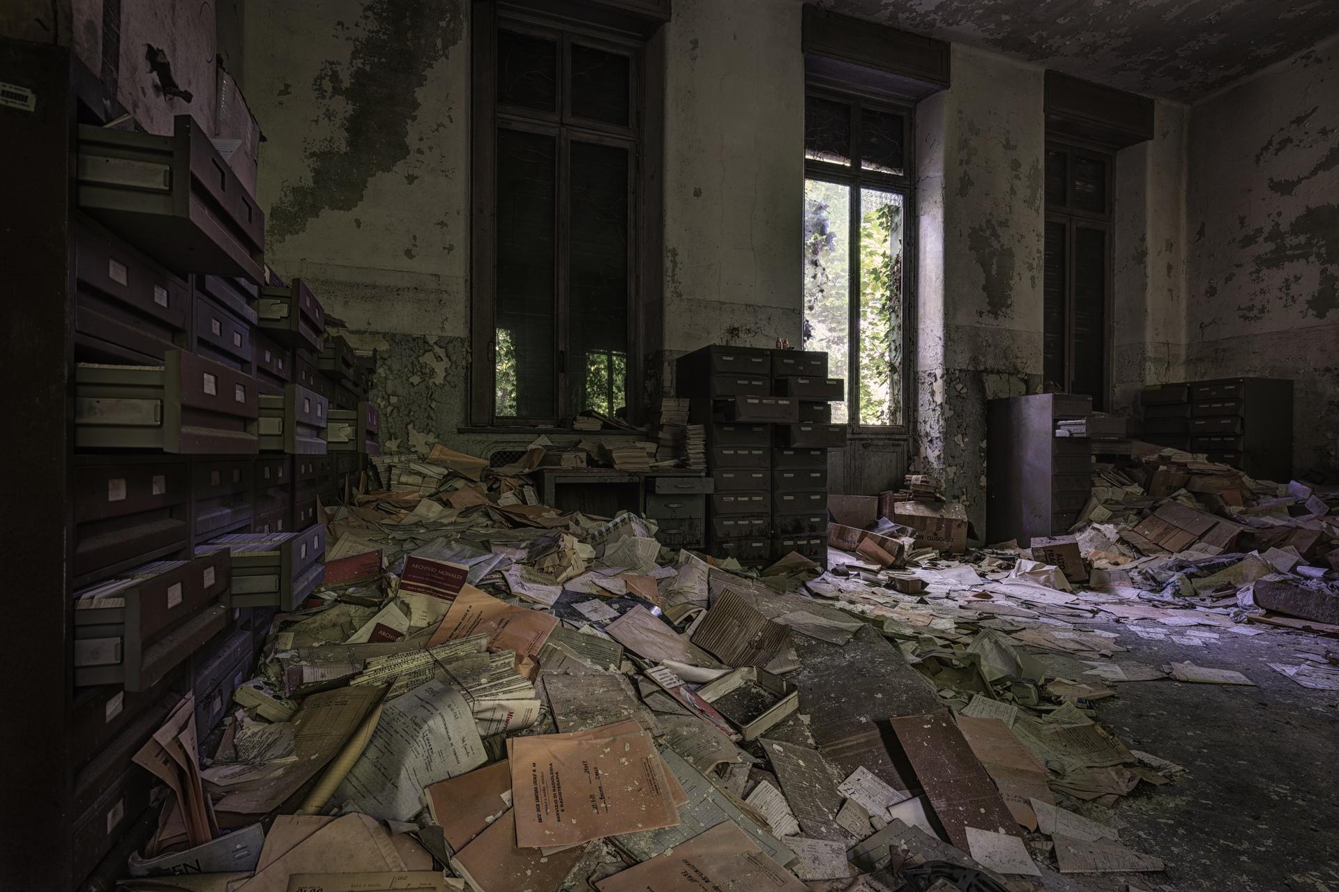 Urban Exploration - Manicomio Vendetta - Storage Overflow