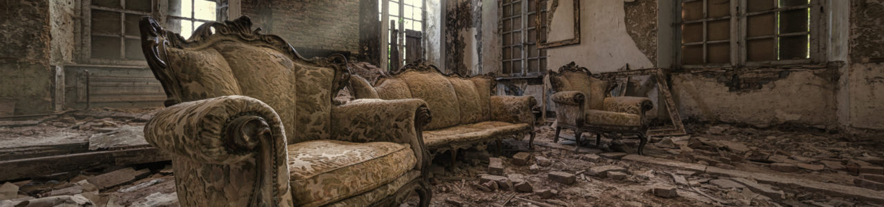 Urban Exploration - Chateau Congo - Congo Throne