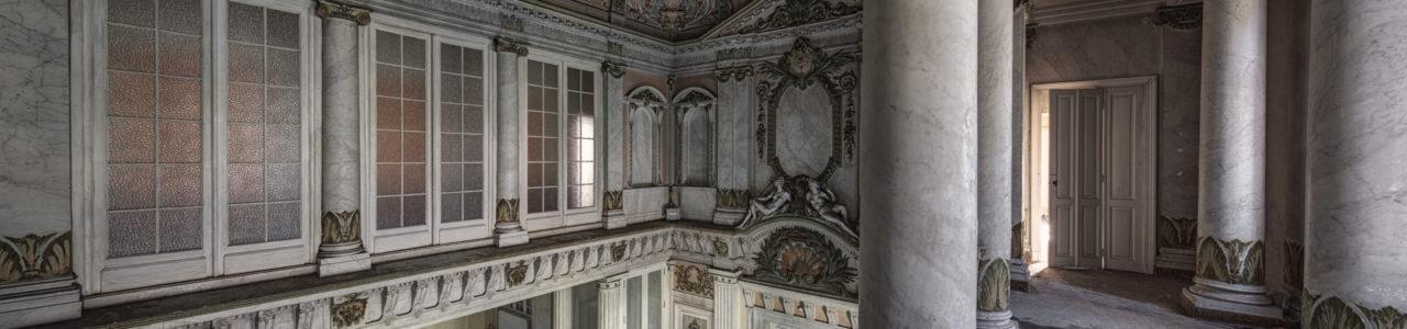 Urban Exploration - Alla Italia - Marble Hallway